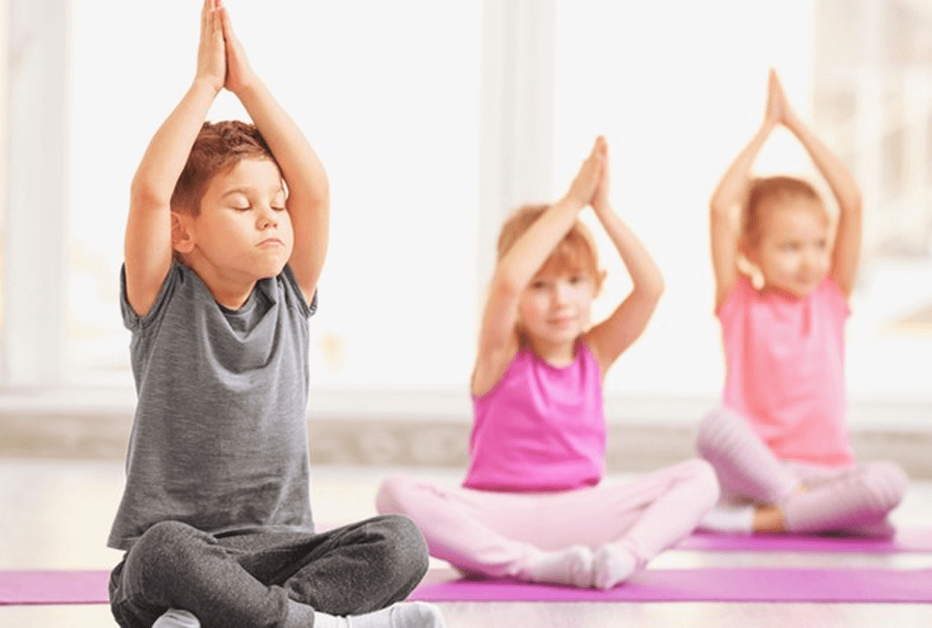 English Yoga per bambini
